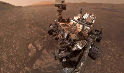 Curiosity подтвердил наличие глины на Марсе