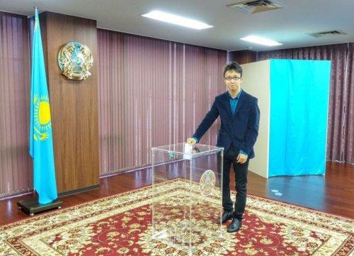 Внеочередные выборы президента Казахстана