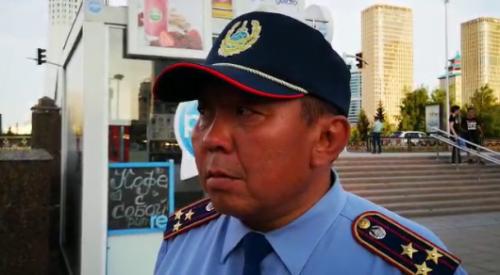 Задержаний нет — замначальника полиции об обстановке в Нур-Султане
