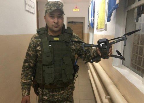 В Актобе задержали владельца дрона за полет над войсковой частью