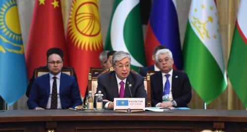 Что предложил Токаев на саммите ШОС в Бишкеке