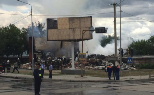 Взрыв в Костанае. Полицейскими возбуждено уголовное дело