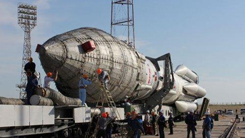 """На Байконуре перенесли запуск ракеты """"Протон-М"""""""