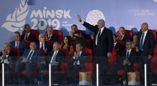 Скандал на Европейских играх: Лукашенко не хотел идти на стадион - СМИ