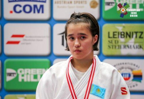 Дзюдоистка Галия Тынбаева - победительница Кубка Европы