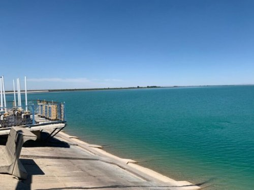 В управлении сельского хозяйства сообщили, что спуск воды Бугунского водохранилища — фейк