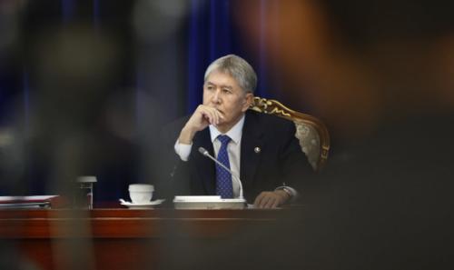 Генпрокурор Киргизии одобрил снятие неприкосновенности с Атамбаева