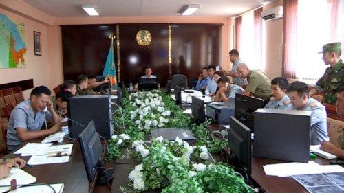 В связи с событиями в Арыси ДЧС Шымкента призывает верить только официальной информации