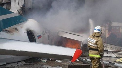 Два пилота погибли при аварийной посадке пассажирского Ан-24 в Бурятии