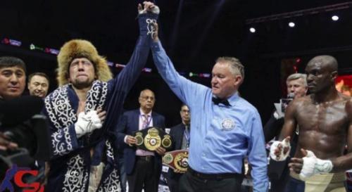 Казахстанский боксер с восемью нокаутами вошел в ТОП-10 рейтинга WBO после победы в бою за три титула