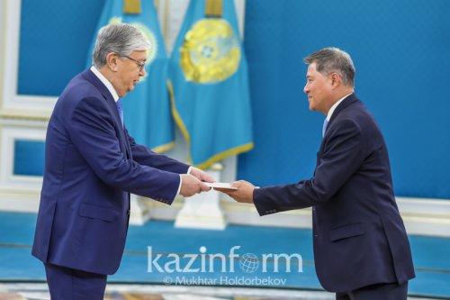 Послы трех стран вручили верительные грамоты Президенту РК