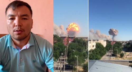 Мужчина, заявивший о сотнях погибших в Арыси, извинился перед казахстанцами