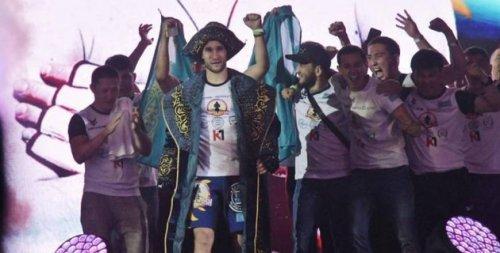 Казахстанец Морозов нокаутировал россиянина и завоевал пояс чемпиона M-1 Challenge