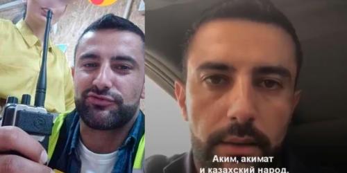 Беспорядки на Тенгизе: иностранец извинился перед казахским народом