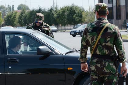 В Чечне напали на пост полиции