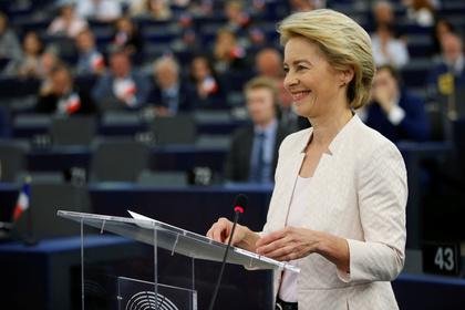 Новая глава ЕК призвала сохранить санкции против России