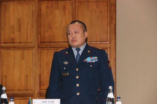 Генерал Абисатов извинился перед жителями Актобе