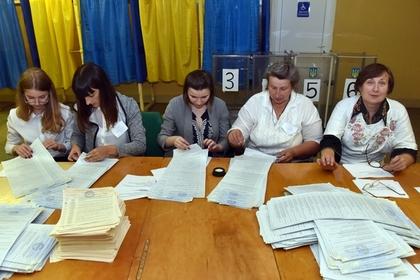 Состав проходящих в Раду партий изменился после обработки трети голосов