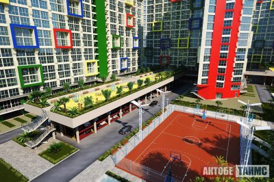 В Актобе начнут строить двухэтажные дворы