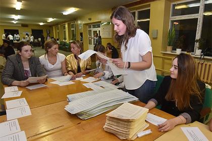ЦИК Украины подсчитала 100 процентов бюллетеней