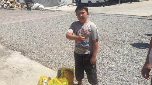 Маленький рост, но большое сердце – одиннадцатилетний Айдос помогает жителям Арыси