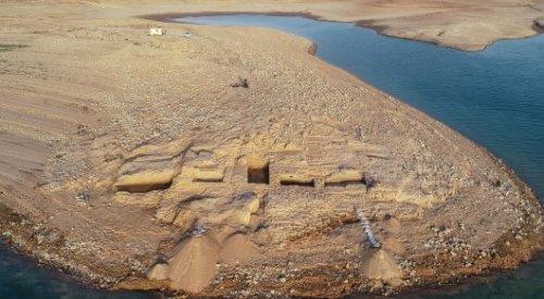 Засуха обнажила 3400-летний дворец на территории Ирака