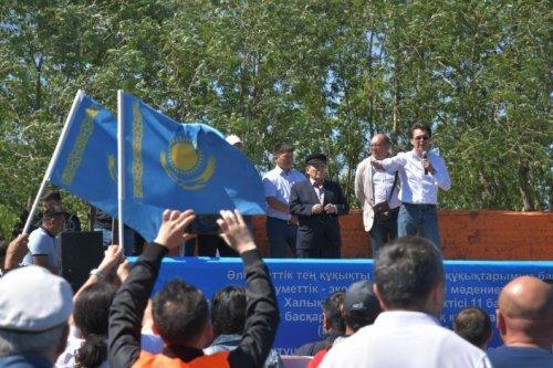 Мирный митинг состоялся в Нур-Султане
