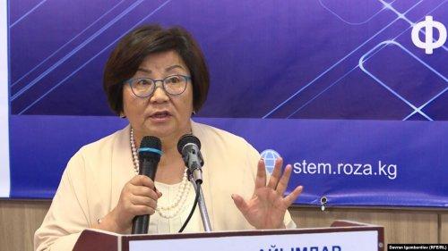 Экс-президент КР Роза Отунбаева прокомментировала ситуацию вокруг Алмазбека Атамбаева