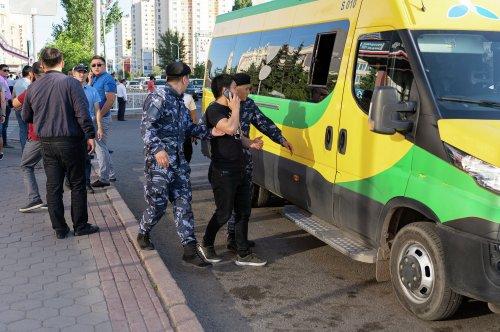 МВД Казахстана сообщило о задержании организаторов и активистов несанкционированной акции протеста