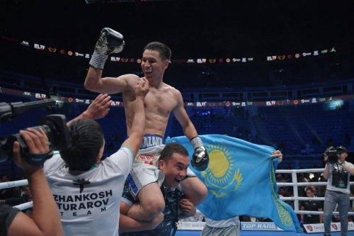 Жанкош Тураров победил нокаутом в бою за титул от WBO