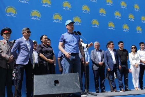 В Алматы прошел митинг против провокаций. О чем говорили на митинге