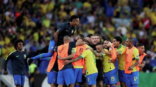 Сборная Бразилии в девятый раз в истории выиграла Кубок Америки