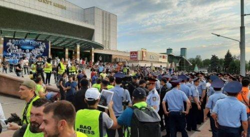 МВД: Более 100 человек задержано 6 июля за участие в несанкционированных митингах