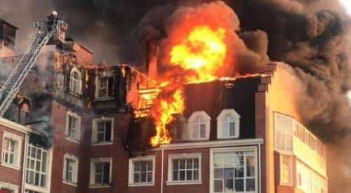 Названа причина пожара в элитном жилом комплексе в Нур-Султане