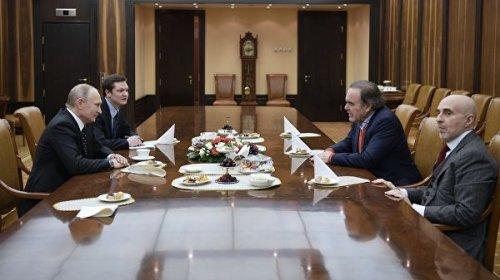 Путин дал интервью для фильма Стоуна про Украину