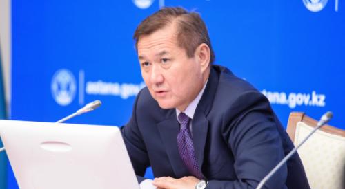 Ермек Аманшаев получил новую должность