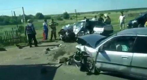 Один погиб и четверо пострадали в кошмарном ДТП близ Караганды