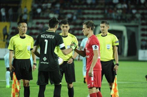 Казахстанские арбитры рассудят матч Лиги Европы