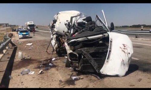 5 человек погибли в ДТП на трассе Шымкент-Жибек жолы