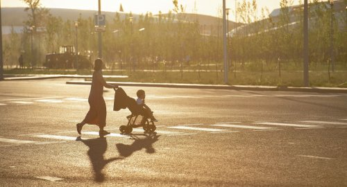 Многодетная мать оставила детей в здании акимата в Шымкенте