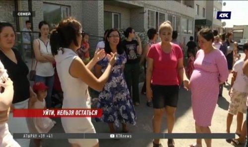 Жителей Семея попросили освободить квартиры за 10 тысяч тенге