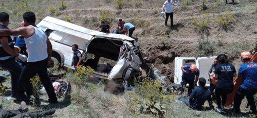 Авария с автобусом в Турции унесла жизнь 15 мигрантов