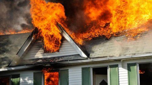 В Актобе в собственном доме сгорел мужчина