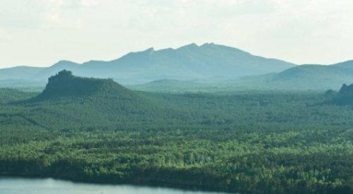 Гора Жеке батыр горит в Боровом