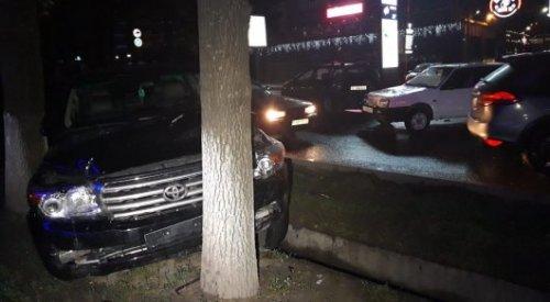 Массовое ДТП  в Алматы, есть пострадавшие