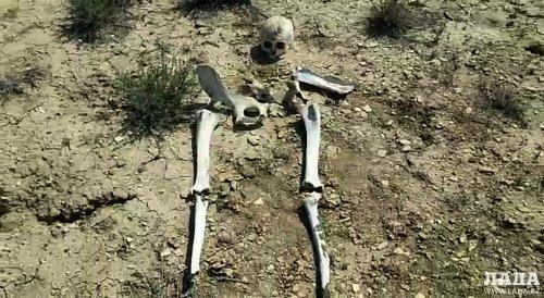 Житель Актау обнаружил скелет человека во впадине Карагие