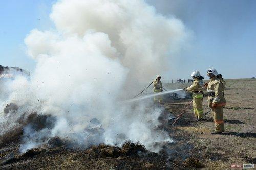 Мусорный полигон в Актобе оштрафовали после пожара