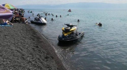 Водный скутер проехался по голове астанчанки на Алаколе