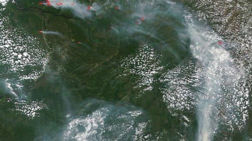 Синоптики подтвердили, что причина смога в Нур-Султане – пожары в России