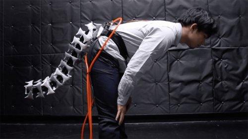 В Японии создали механический хвост для людей